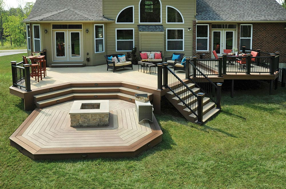 Deck Design Inspiration Gallery Zuern Building Products