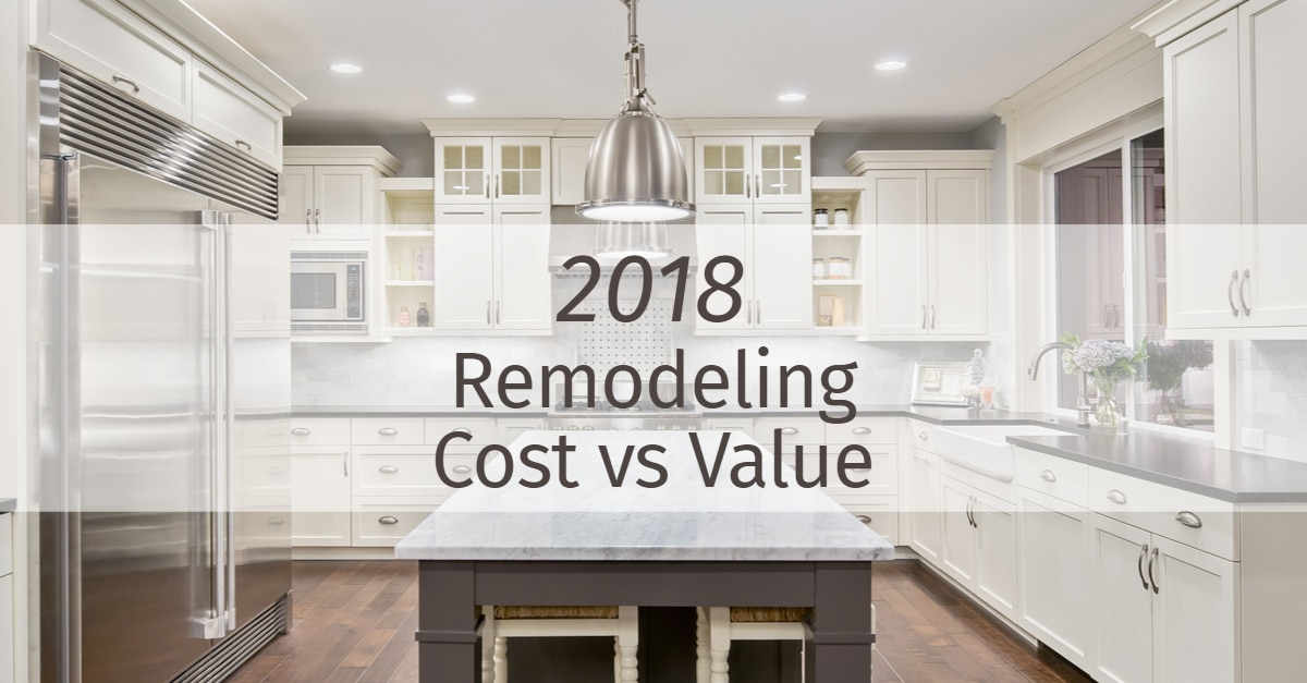 2018 Kitchen and Bath Remodeling Cost vs Value